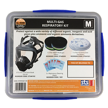 STS Full Face Mask Multi-Gas Respiratory Kit