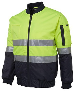 Hi Vis (D+N) Flying Jacket - Select Colour