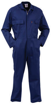 TWZ Comb Zip 100% Navy Cotton Overalls