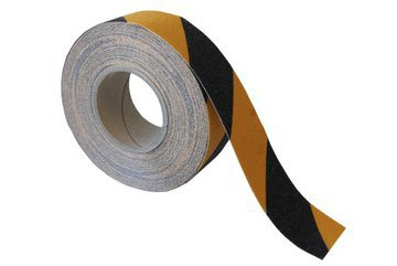 Grit Tape Black Yellow 50mm X 18m