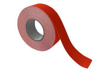 Grit Tape Fluoro Orange 50mm X 18m