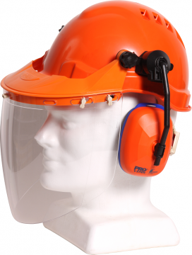 Tuff Nut Clear Visor Combo Kit