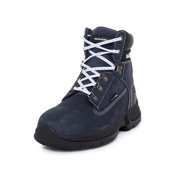 Mack Brooklyn Ladies Lace up Safety Boot Navy
