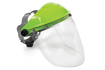 Tuff Shield Browguard & Smoke Visor Combo