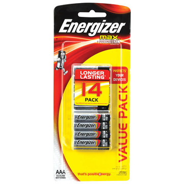 Energizer Max AAA Bllster Pack 14