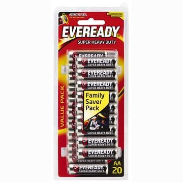 Eveready Super Heavy Duty AA 20pk