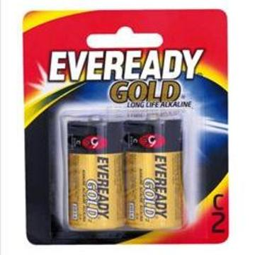 Eveready Gold Alkaline Battery C (2pk)