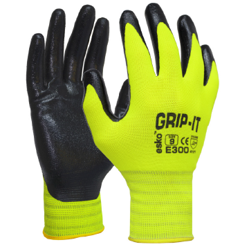 GRIP-IT Nitrile Palm Coated Gloves
