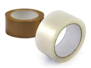 Medium Duty Acrylic Packaging Tape - Select Colour