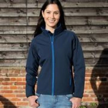 Ladies' Printable Soft Shell Jacket