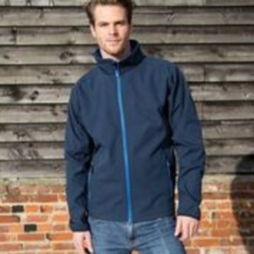 Mens Printable Soft Shell Jacket