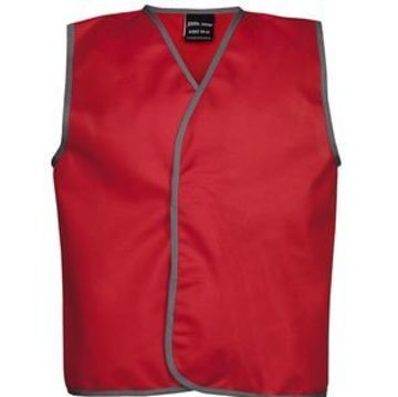 Kids Coloured Tricot Vest Red