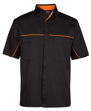 Podium Industry Shirt Black Orange