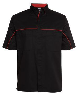 Podium Industry Shirt Black Red