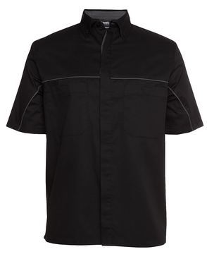 Podium Industry Shirt Black Charcoal