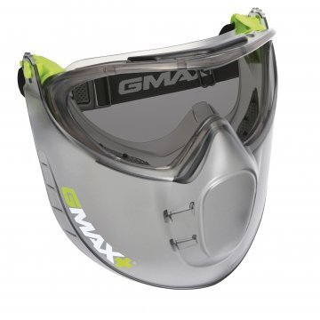 Gmax Vented Goggle Faceshield Smoke