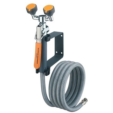 Eyewash Deck Drench Hose Unit, Deck Mounted