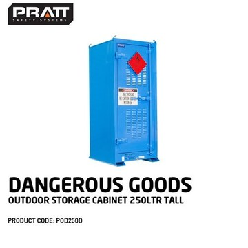PRATT Outdoor Cabinet 250L Drum
