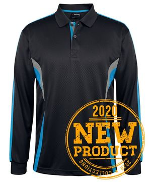 Podium Long Sleeve Cool Polo