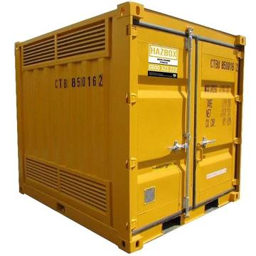 HAZBOX Outdoor Hazardous Goods Storage Container - 8FT