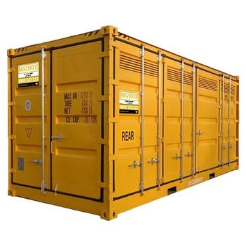 HAZBOX Outdoor Hazardous Goods Storage Container - 20FT