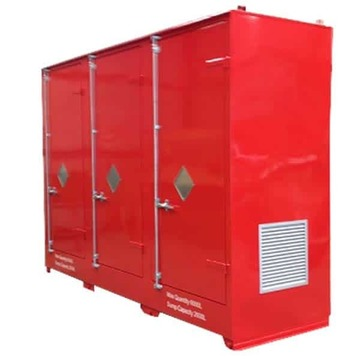 HAZBOX Outdoor IBC/Pallet Storage 1000L