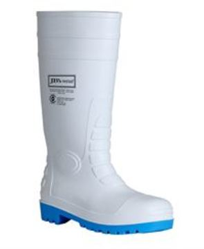 JB's Steel Toe Cap And Steel Plate Gumboot White