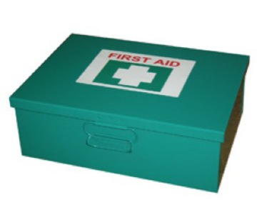 Industrial 1-25 Person First Aid Kit (Wall Mountable Metal) Box)