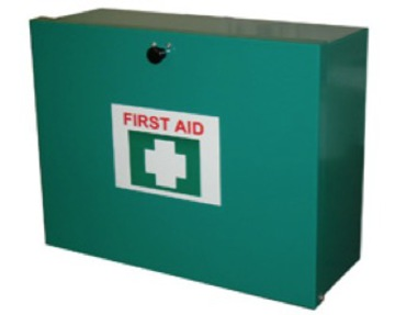 Industrial 1-50 Person First Aid Kit (Wall Mountable Metal Box)