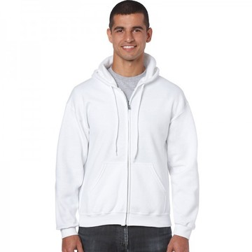 Classic Fit Adult Full Zip Hooded Sweatshirt