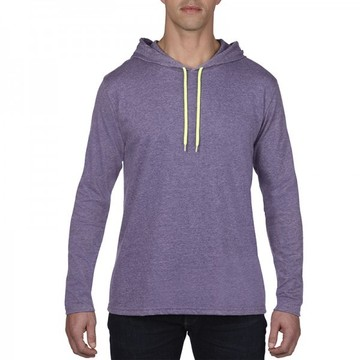 Adult Lightweight Long Sleeve Hooded Tee